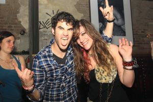 Glee Star Darren Criss made a surprise appearance at Don Hills in NYC
