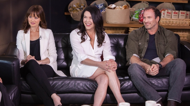 Gilmore Girls cast reunited for TODAY Show interview in Austin, Texas.